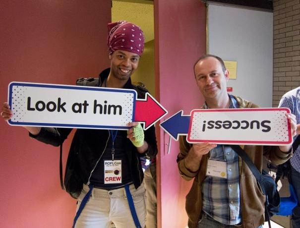 Antoine Dodson & Eddie Codel