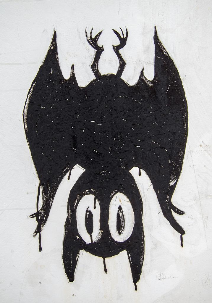 Bat Street Art in Austin