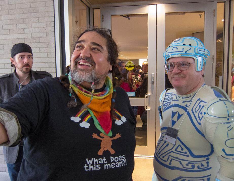 Double Rainbow Guy & Tron Guy